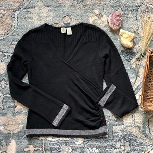 Anthropologie HWR Cashmere & Wool Sweater